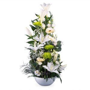 Vertical Baby Birth Centrepiece