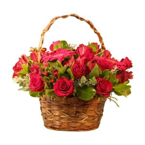 Ruby Red Basket